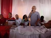 Serin participa de reunião promovida pelo Movimento dos Trabalhadores Sem Teto