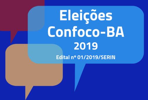 Eleições Confoco-BA: divulgada lista de entidades inscritas.
