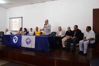 Josias Gomes alerta os estudantes universit�rios do perigo de retrocesso pol�tico que amea�a a democracia brasileira