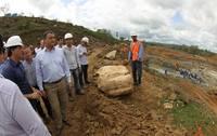 Barragem do Rio Col�nia est� com 25% das obras conclu�das