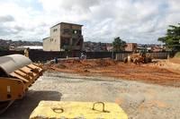 Obras no entorno do Hospital Geral Roberto Santos (HGRS) ficam prontas at� dezembro