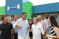 Maracás: Rui Costa inaugurou duas quadras cobertas, pavimentação e iluminação de ruas