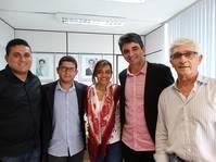 Prefeito de Itajuípe solicita apoio do Estado para obras de pavimentação e drenagem de águas pluviais