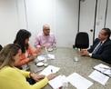Cônsul Geral de Cuba recebida em audiência por Josias Gomes